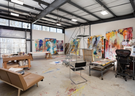 Jackie Saccoccio studio, Fall 2019