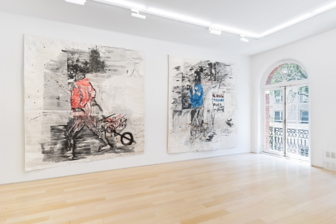 Installation view of MAWORKS, May 22 – August 6, 2021