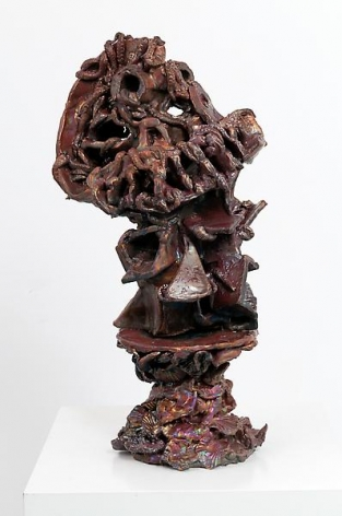 Nightshade, 2011Ceramic12 x 11 x 9 inches (30.5 x 27.9 x 22.9 cm)