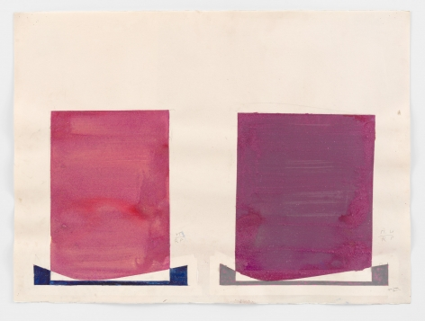 Untitled, 1970s Acrylic on Paper