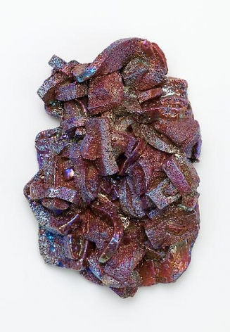 Purple Lava, 2011Porcelain16 x 11 x 6 inches (40.6 x 27.9 x 15.2 cm)
