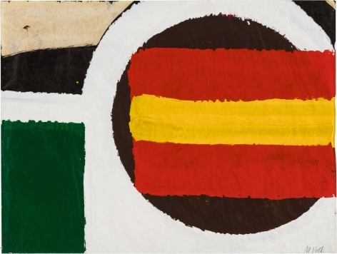 Untitled,1960 Oil on paper