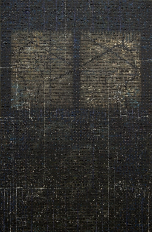 Chaih-Kah,2011 Oil on aluminum panel