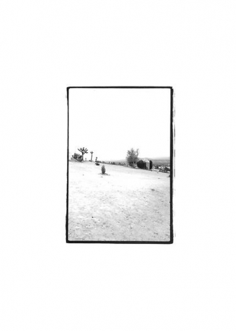 Untitled, from the series Desert, 1976/2006Gelatin silver print7 x 5 inches (17.8 x 12.7 cm)Edition 1/6, 2 AP