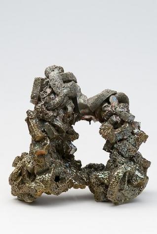 Viridian Grotto, 2010Ceramic, luster glaze14 x 12 1/2 x 10 inches (35.6 x 31.8 x 25.4 cm)