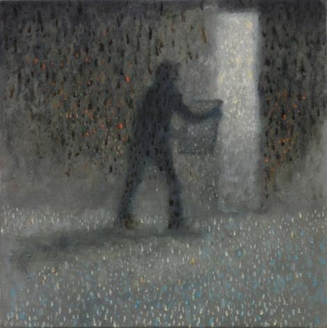 El Ejemplar, 2010, Oil on aluminum panel