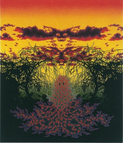 Samhain, 2010alkyd on canvas30 x 26 inches ( 76.2 x 66 cm)