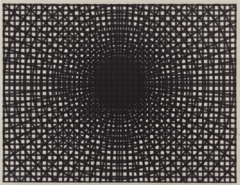 Untitled, 2019 Laser toner on paper, unique