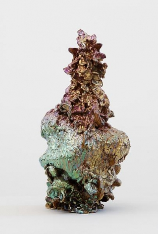 Janus of Flowers, 2010Ceramic20.5 x 11 x 9 inches (52.1 x 27.9 x 22.9 cm)