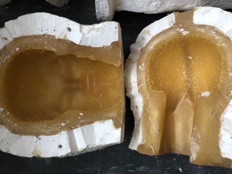 artist's rubber molds