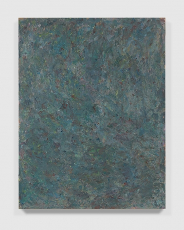 heavily textured abstract painting