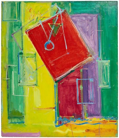 Hans Hofmann, Untitled, c. 1949-50Oil on plywood (painted on both sides)35 x 30 inches (88.9 x 76.2 cm)© 2011 Renate, Hans & Maria Hofmann Trust / Artists Rights Society (ARS), New York