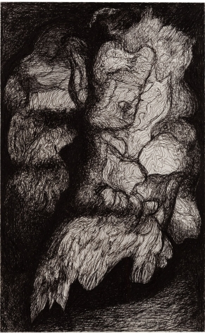 Untitled,1964 Ink on paper