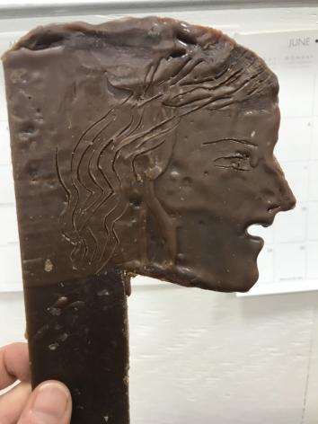 wax mold for a bonze sculpture