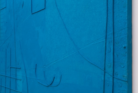 Untitled (Tonics/blue)[Detail], 2018