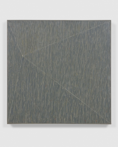 grey geometric abstract painting