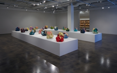 Installation view of Absorption by the Sun, Courtesy Museum of Contemporary Art Santa Barbara