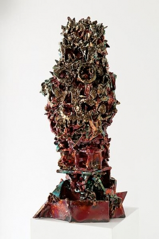 Shapeshifter, 2011Ceramic35 1/2  x 16 x 15 inches (90.2 x 40.6 x 38.1 cm)