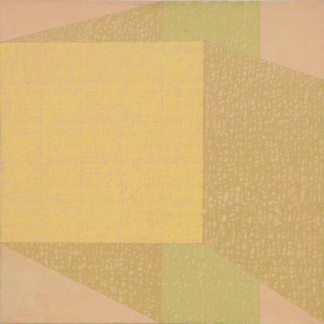 Yellow geometric abstraction