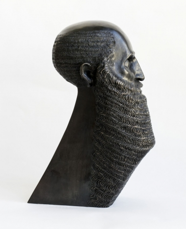 Portrait of a Bearded Man with Triangular Base (alternate view)