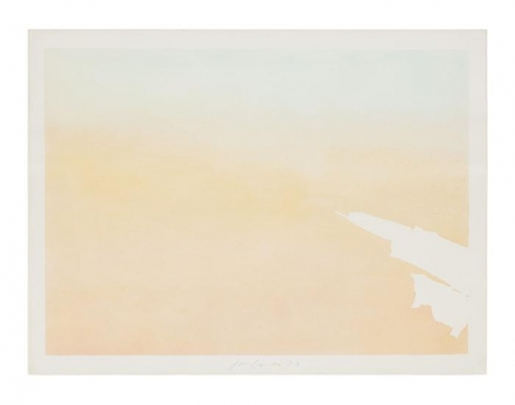Untitled (Torn Cloud C), 1973, Pastel on paper, 30 x 40 inches (76.2 x 101.6 cm)