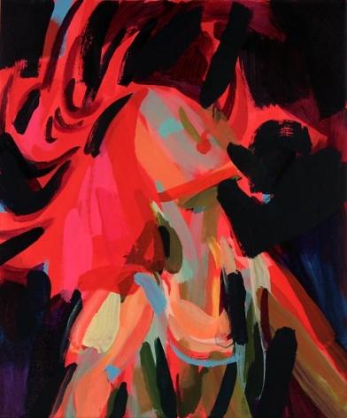 Bryn McConnellHead Flip, 2009Acrylic on canvas24 x 20 inches (61 x 50.8 cm)
