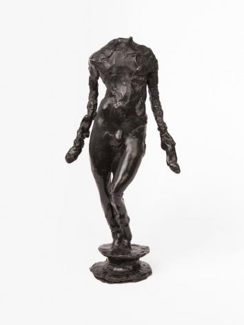 headless bronze statuette