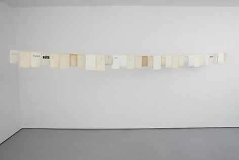 Timeline I, 201031 book pages and copper wireLength: 19'10""
