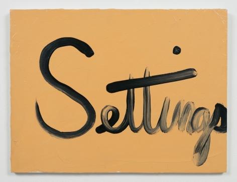 Ree Morton Settings (Signs of Love)