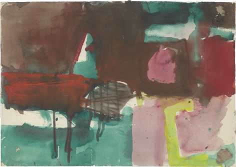 Brooks, Diebenkorn, Goldberg, Sterne, Tworkov: Works from the 1950s