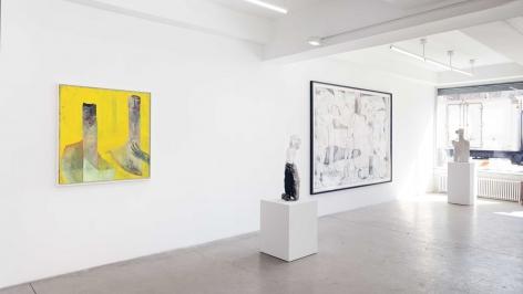 Volker Hüller Installation view