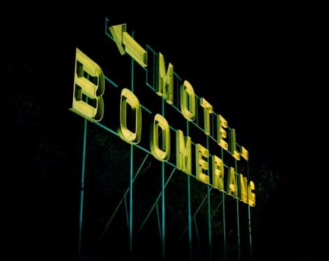 Motel Boomerang2008C-print43 1/4 x 54 1/2 inches (109.9 x 138.4 cm)Edition 2/6TD 1875