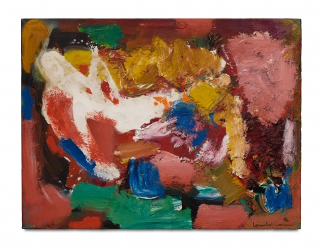 Dormant Beauty, 1960 Oil on canvas