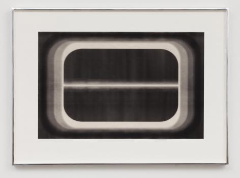 Aperture Series (24), 2015, Laser toner on paper, unique