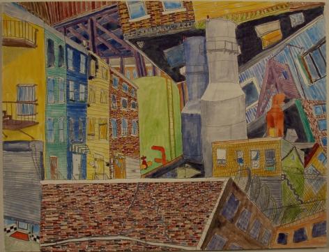 Matt Anderson Spiral City Drawing