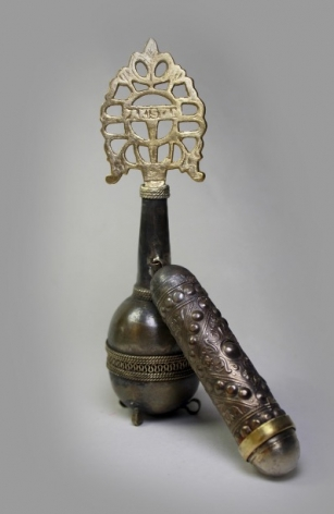 Affan Baghpati  Thing, 2020  Assemblage, found objects, brass alloy  6.1 x 4.3 x 1.77 in
