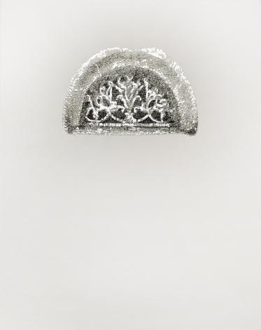 Najmun Nahar Keya  Corinthian Dhaka (7)  Charcoal, graphite, rabbit skin glue, silver, on Fabriano archival paper  11 x 14 in.  2019