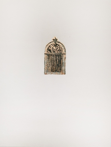 Najmun Nahar Keya  Corinthian Dhaka (11)  Charcoal, graphite, rabbit skin glue, silver, on Fabriano archival paper  11 x 14 in.  2019