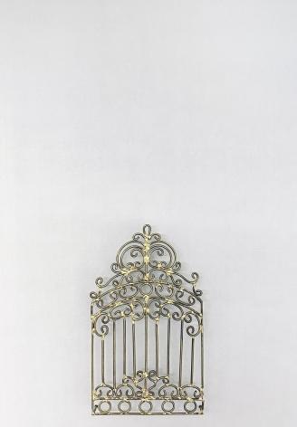 Najmun Nahar Keya  Yume-no-sen (6), 2019  Gas welded brass and gold leaf on Japanese paper, wood, archival glue  16 x 11.50 in