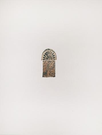 Najmun Nahar Keya  Corinthian Dhaka (14)  Charcoal, graphite, rabbit skin glue, silver, on Fabriano archival paper  11 x 14 in.  2019