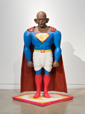 Toy Gandhi 4 (Superhero)