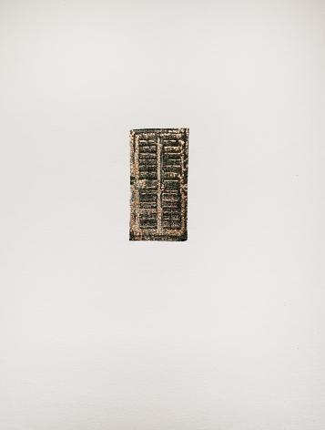 Najmun Nahar Keya  Corinthian Dhaka (13)  Charcoal, graphite, rabbit skin glue, silver, on Fabriano archival paper  11 x 14 in.  2019