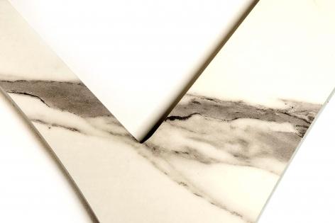 Affan Baghpati  Chashm-e-baddoor (Detail), 2021  Lazer cut ZRK high-gloss laminated sheet, archival acrylic   88 x 150 in
