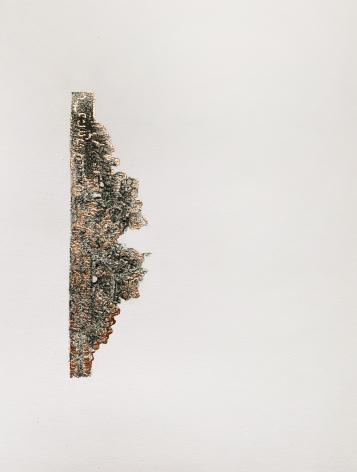 Najmun Nahar Keya  Corinthian Dhaka (8)  Charcoal, graphite, rabbit skin glue, copper, on Fabriano archival paper  11 x 14 in.  2019