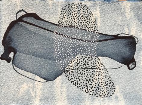Manisha Parekh Blue Shadows
