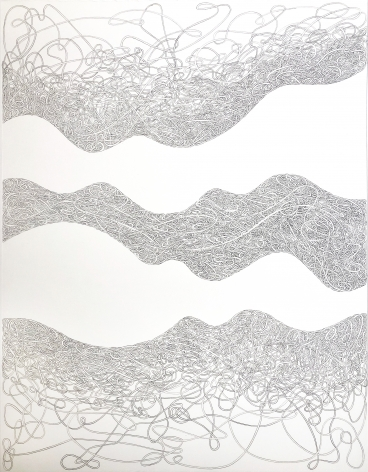 Grace Beck When Quiet Comes, 2020 Graphite on rag paper 18h x 14w in