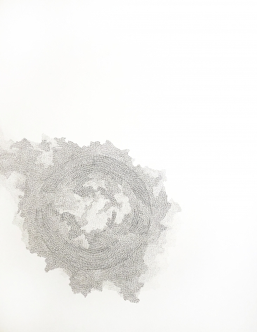 Grace Beck Holding My Breath, 2020 Graphite on rag paper 18h x 14w in