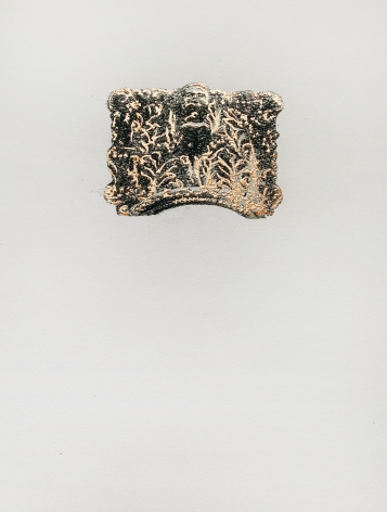 Najmun Nahar Keya  Corinthian Dhaka (12)  Charcoal, graphite, rabbit skin glue, silver, on Fabriano archival paper  11 x 14 in.  2019