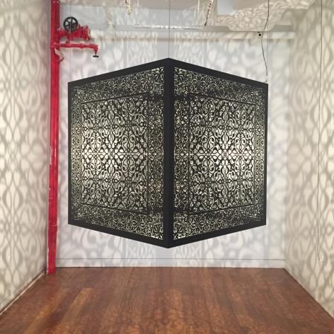 Anila Quayyum Agha Shimmering Mirage