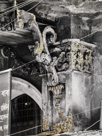 Najmun Nahar Keya   Kintsugi Dhaka (5)  Photograph on archival paper, gold leaf, archival glue  13 x 17 in.  2019